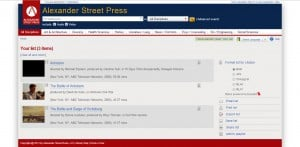 Alexander Street Press Export